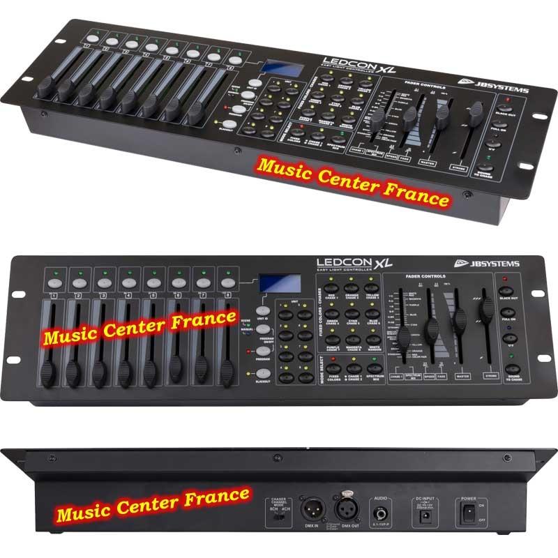 JBSystems JB Systems Ledcon XL contrôleur pour projecteur à LED w800