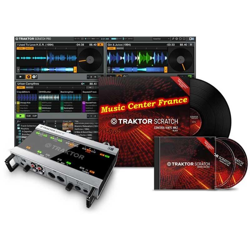 Native Instruments Traktor Scratch A10 pack