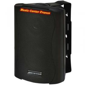 JBSystems JB Systems K50 enceinte d'ambiance noire vud