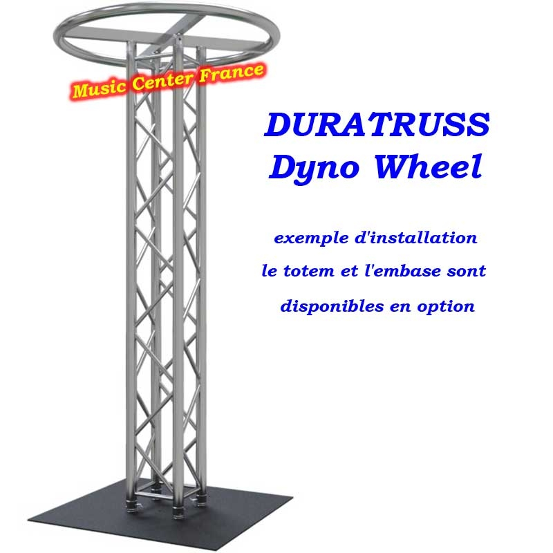 Duratruss DT Dyno-Wheel  structure en cercle pour totem carré