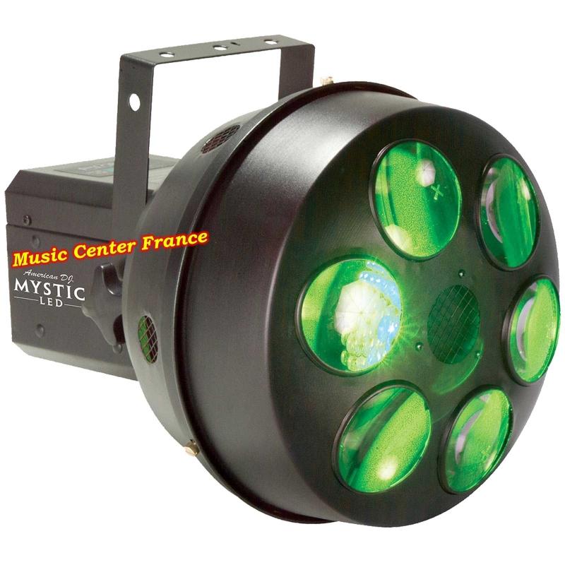 American DJ ADJ Mystic LED jeu de lumière green vert