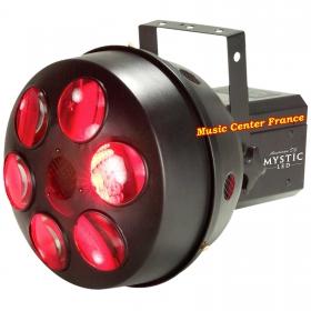 American DJ ADJ Mystic LED jeu de lumière red rouge