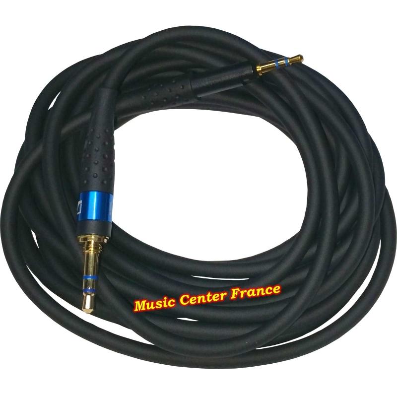 Sennheiser 558472 câble cordon casque HD6DJ HD7DJ HD8DJ HD6 HD7 HD8 HD 6 7 8 DJ