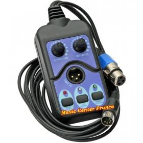 JBSystems JB Systems télécommande DMX2 DMX-2 pour machine a fumee FX1000 FX1700 FX 1000 FX 1700