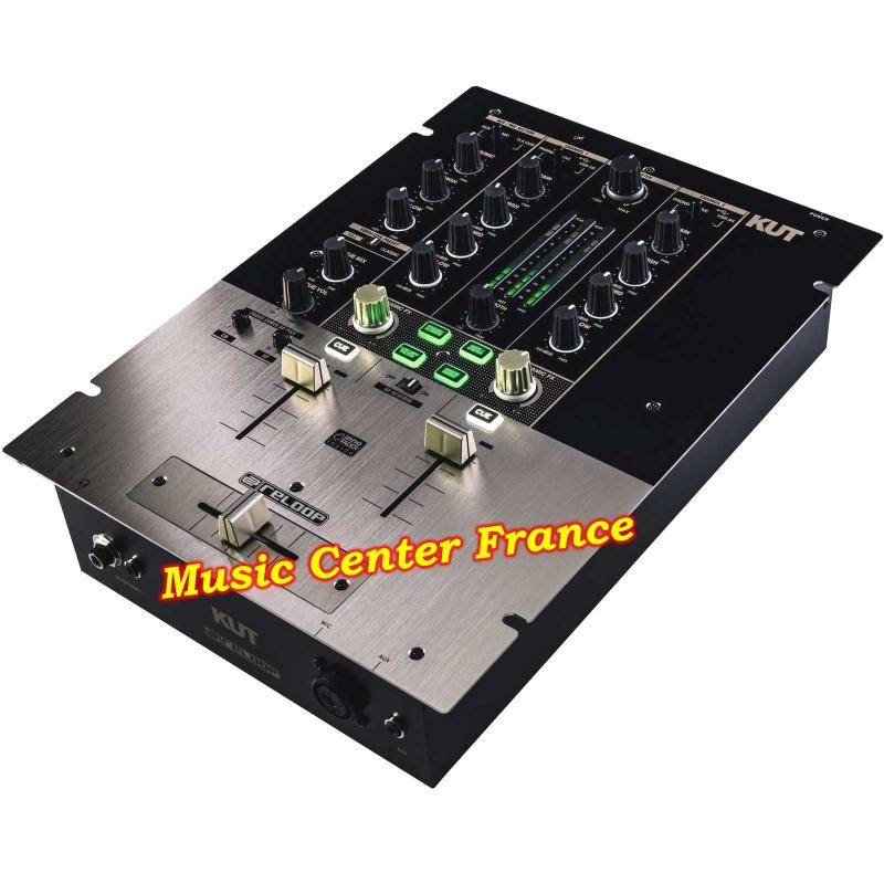 reloop kut mixer table de mixage  scratch innofader vue de droite
