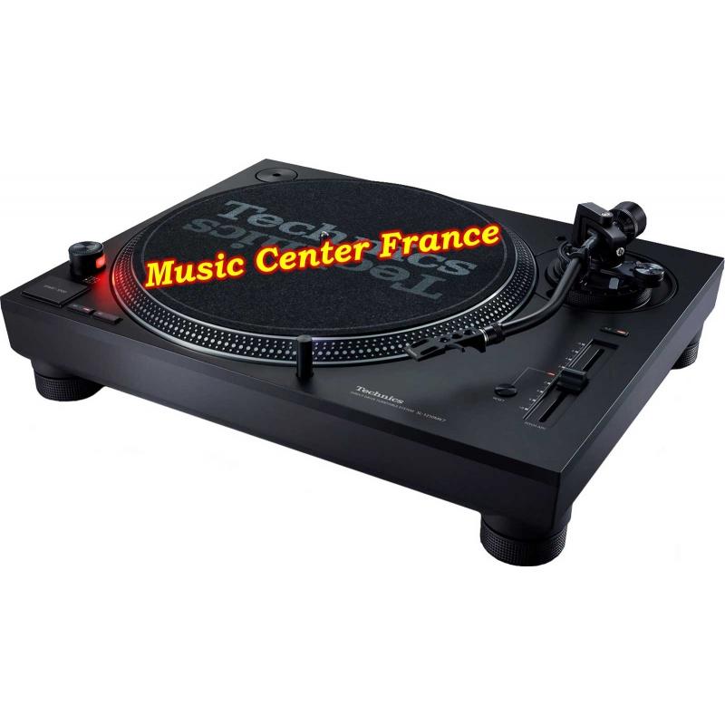 Technics SL1210mk7 SL1210 mk7 SL 1210 mk7 platine vinyle noire