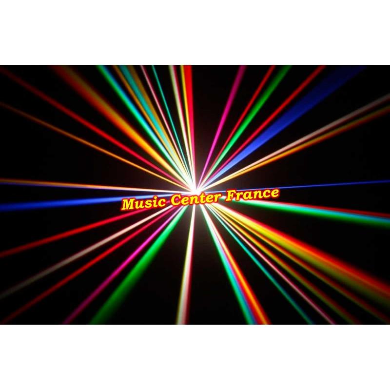 briteq laser 2000 rgb 2 w DMX ILDA effet 2