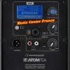 Audiophony ATOM15A connectique w800