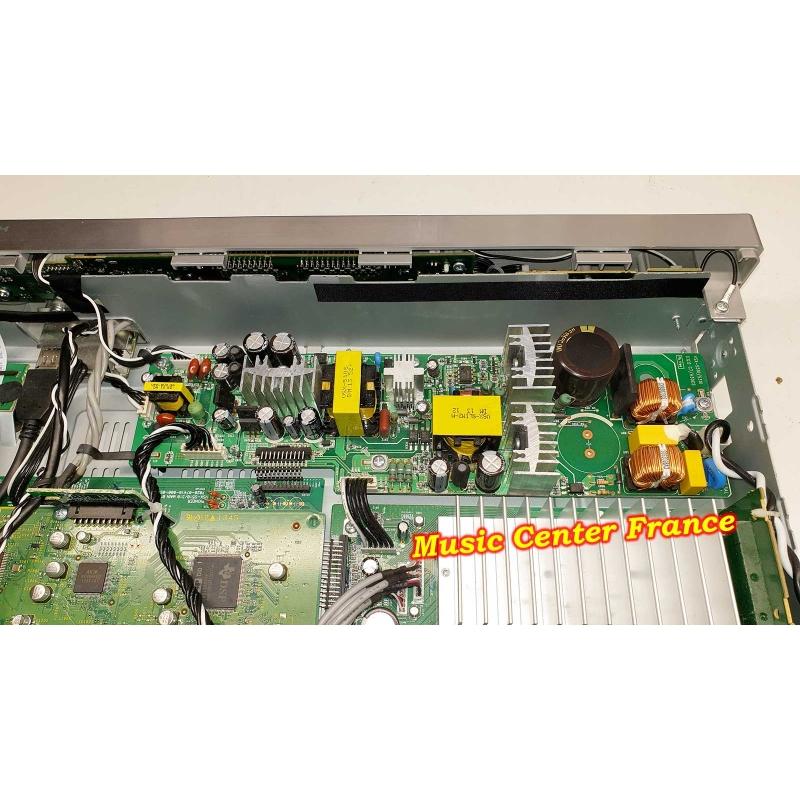 ampli tuner Pioneer VSXS510S VSX-S510S VSX-S510 S vue sur la carte d'alimentation panne réparation sav