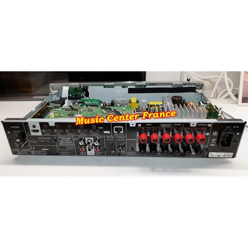 ampli tuner Pioneer VSXS510S VSX-S510S VSX-S510 S vue sur la connectique arrière panne réparation sav