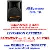 JBSystems JB Systems PSA10 PSA 10 enceinte amplifiée de 25 cm et d'une puissance de 160 w RMS totale - promotion pub