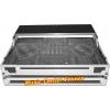 flightcase avec plateau PC mac Power Acoustics pour contrôleur numérique Pioneer XDJ-XZ vue face avec plateau en arrière vu1