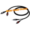 procab cab800 cab 800 cordon cable 2 rca male vers 2 rca male music center france