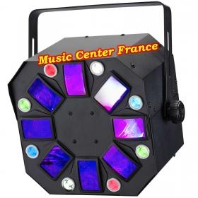 Contest Octodangle jeu de lumière led vud Music Center France