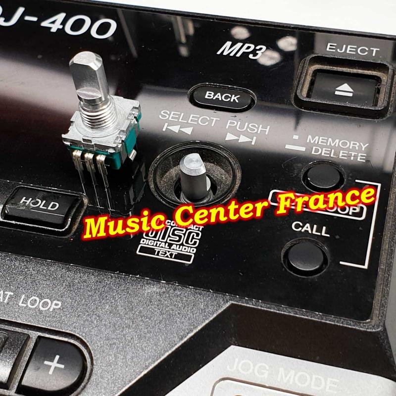Pioneer DSX1056 DSX 1056 sélecteur select-push pour Pioneer DJM400 DJM 400 vue 7 Music Center France