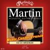 Martin M140 M140F corde de guitare série standard bronze boîte de 6 cordes Music Center France