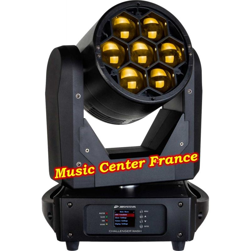JBSystems JB Systems challenger wash code B05539 5539 yellow jaune Music Center France