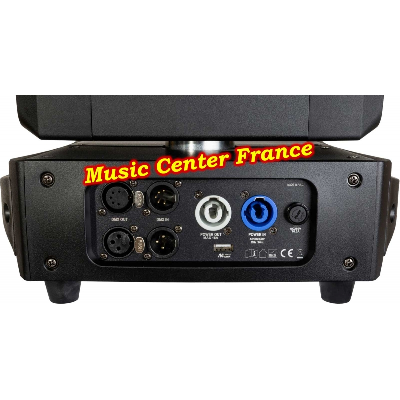 JBSystems JB Systems challenger wash code B05539 5539 connectique Music Center France