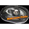 Lightning-Audio B3.69.3 B 3.69.3 Bolt Rockford-Fosgate haut-parleur oval hp vue avec grille