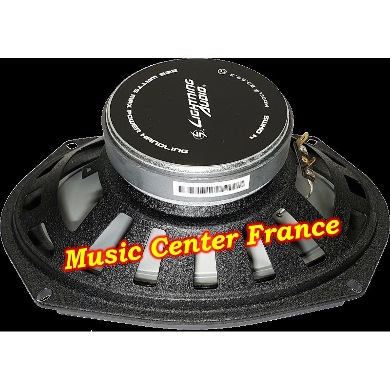 Lightning-Audio B3.69.3 B 3.69.3 Bolt Rockford-Fosgate haut-parleur oval hp vue de l'aimant