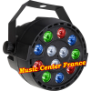 JBSystems JB Systems minipar 12 mini-par 12 rgbw projecteur projo on allumé Music Center France
