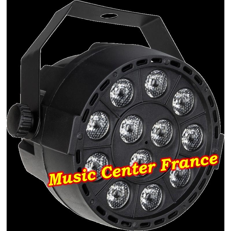JBSystems JB Systems minipar 12 mini-par 12 rgbw projecteur projo off éteint Music Center France