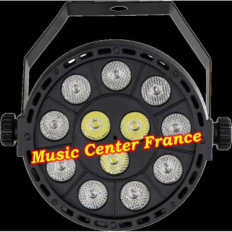 JBSystems JB Systems minipar 12 mini-par 12 rgbw projecteur projo vue de face Music Center France