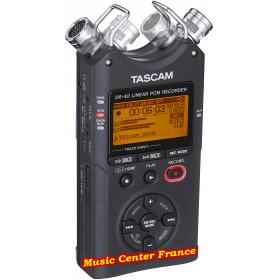 Tascam DR40 DR 40 version 2 - v2 mk2 enregistreur numérique vue gauche Music Center France