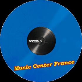 serato disque vinyle encodé couleur bleu SCV-PS-BLU-2 paire disque seul