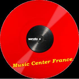 serato disque vinyle encodé couleur rouge SCV-PS-RED-2 paire disque seul