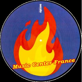 serato disque vinyle encodé emoji flamme flame SCV-PS-EMJ-2 paire disque seul flamme