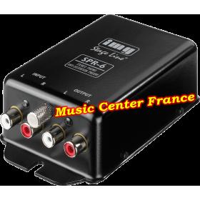 Stage-Line Monacor SPR-6 SPR6 pré-ampli phono platine vinyle platine disque tourne-disque