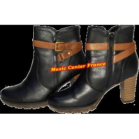 bottines lowboots low boots Young & Cool femme jeune fille pointure 37 vue de droite