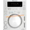 Pioneer CDJ350 CDJ350w CDJ 350 W white blanc blanche platine cd à plat vue top dessus