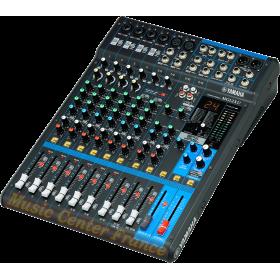 Yamaha MG12XU MG12 XU MG 12 XU console musicien 12 canaux 6 entrées micro vue droite
