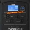 Audiophony ATOM15ASUB caisson de basses connectique w800
