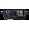 Briteq Shark lyre à led de 200w 200 w code B05535 roue gobos rotatifs roue couleurs vue connectique