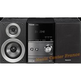 Panasonic SC-PM 600 mini-chaîne hi-fi avec CD, USB, tuner, bluetooth vue1 de face