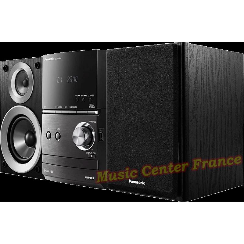 Panasonic SC-PM 600 mini-chaîne hi-fi avec CD, USB, tuner, bluetooth vue2 de droite