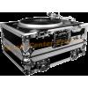 Road Ready RR1200B flightcase flght case pour platine vinyle Technics Numark Vestax Reloop vue1